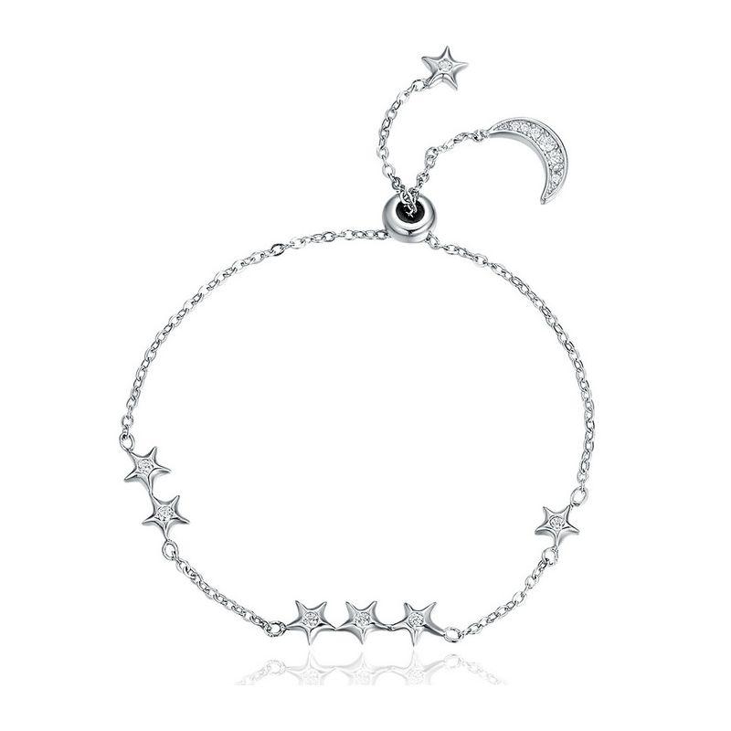 Bratara din Argint Whisper Of Star And Moon