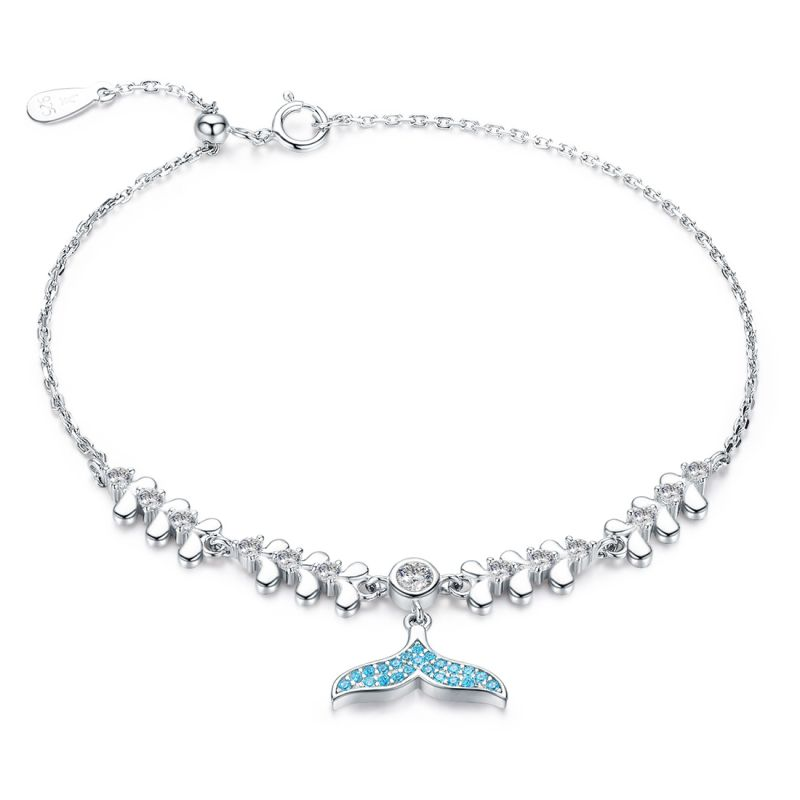 Bratara din Argint Blue Fishtail