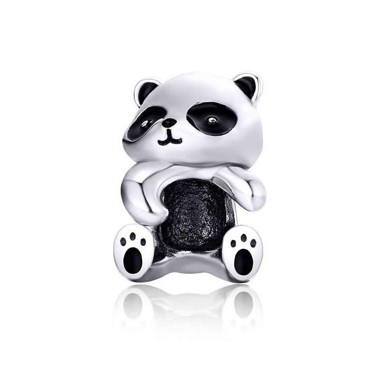 Talisman din Argint Panda