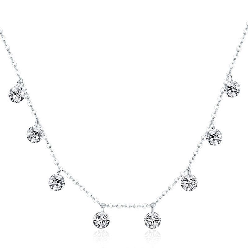 Pandantiv cu Lantisor din Argint Beauty of Simplicity
