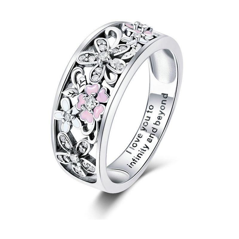 Inel din Argint Flower Dance