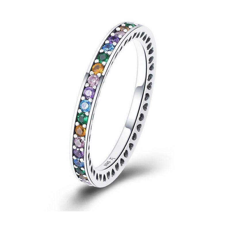 Inel din Argint The Rainbow