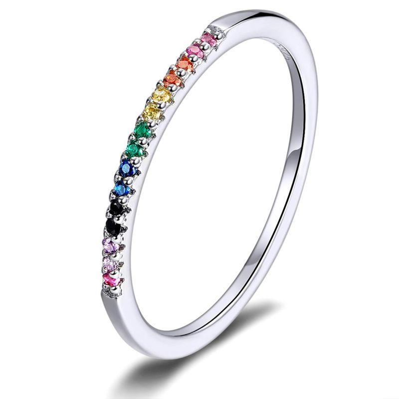 Inel din Argint Colorful
