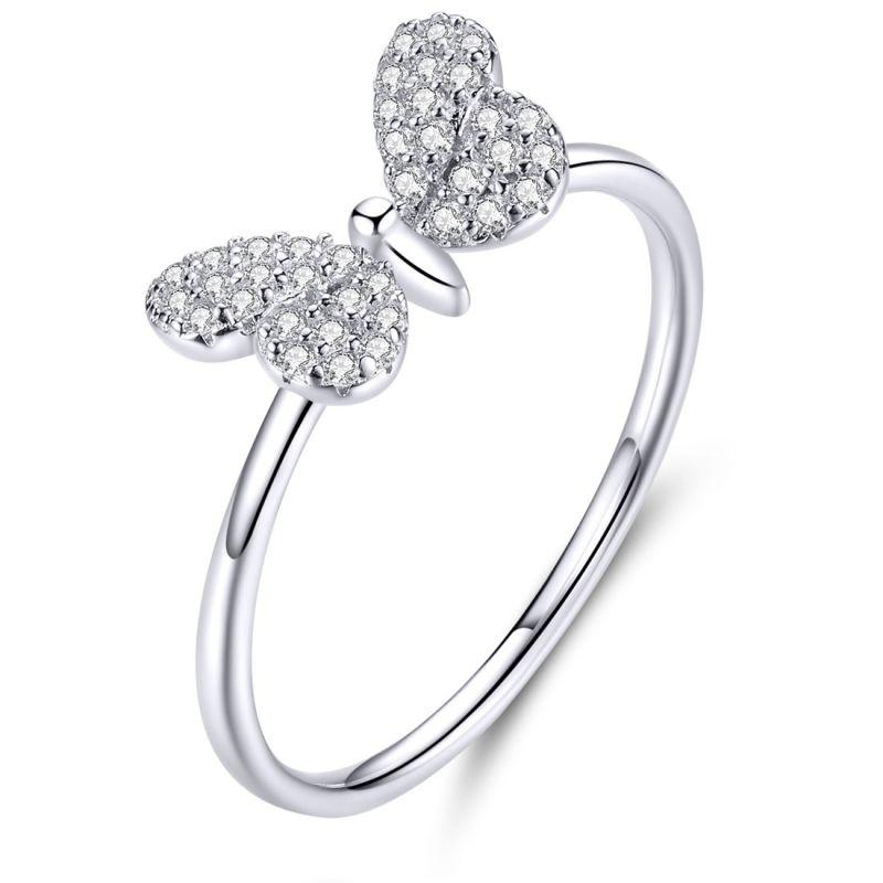 Inel din Argint Butterfly